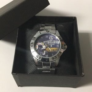 🔴 New Pittsburgh Steelers Watch With Box